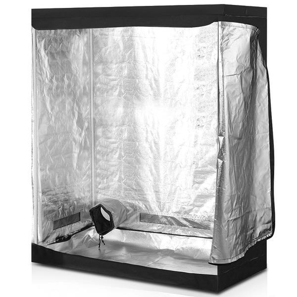 Costway Indoor Grow Tent Room Reflective Hydroponic Non Toxic Clone
