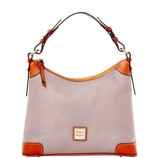 Dooney & Bourke Pebble Grain Hobo (Introduced by Dooney & Bourke at $228 in Apr 2015) - Oyster