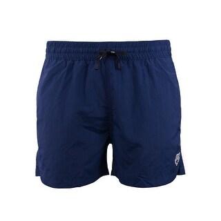 Kenzo Mens Navy Blue Tiger Bathing Suit Swim Shorts - XxL