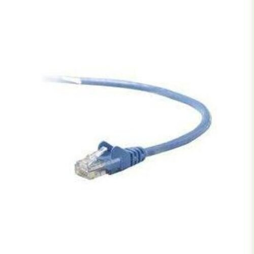Belkin Components - 25Ft Cat5e Snagless Patch Cable, Utp, Blue Pvc Jacket, 24Awg, T568b, 50 Micron,