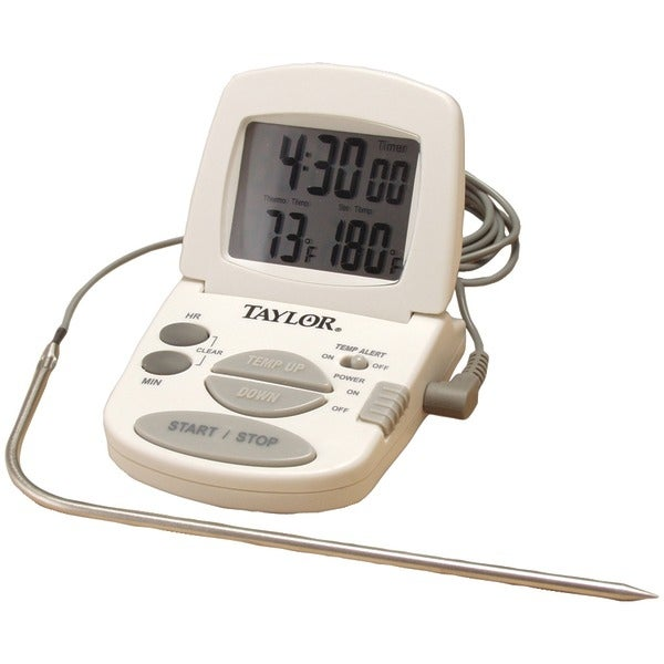 Taylor 1470N Digital Cooking Thermometer/Timer