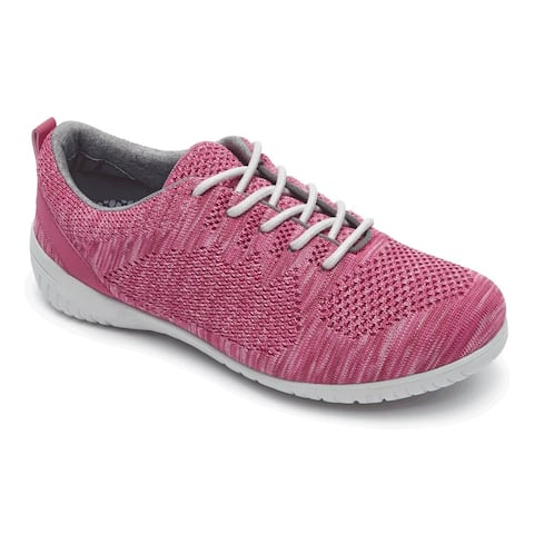 Rockport Womens Knit Tie Fabric Low Top Lace Up Fashion Sneakers