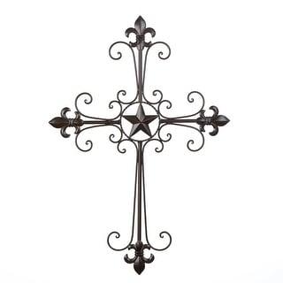 Decorative Wall Cross-Overstock.com