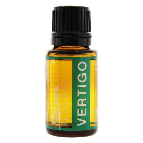 Nature's Fusions - 100% Pure Essential Oil Grounding Blend Vertigo -