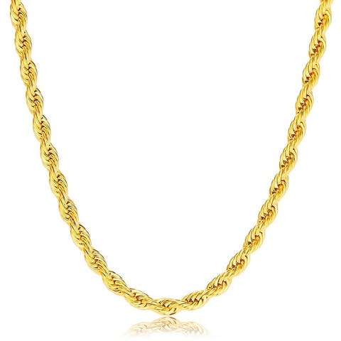 Buy 10k Gold Chains Necklaces Online At Overstock Our Best Necklaces Deals