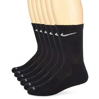 Nike Everyday Unisex Dri-FIT Cushioned Crew Training Socks (6 Pair), Large
