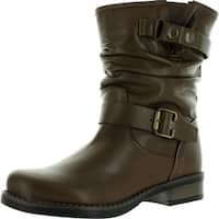 Eric Michael Womens Laguna Boots - Brown