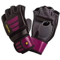 Century Women's Brave Grip Bar MMA Transition Training Bag Gloves - Black/Pink