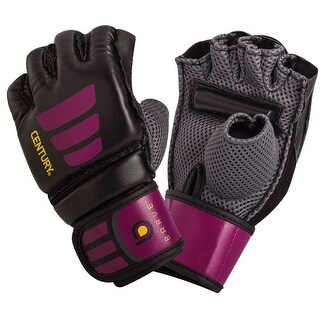 Century Women's Brave Grip Bar MMA Transition Training Bag Gloves - Black/Pink
