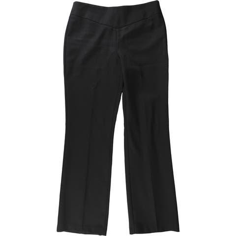 Bar Iii Womens Solid Dress Pant Trousers