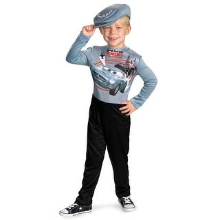 Disguise Disney Cars 2 Finn McMissile Basic Toddler/Child Costume - Grey