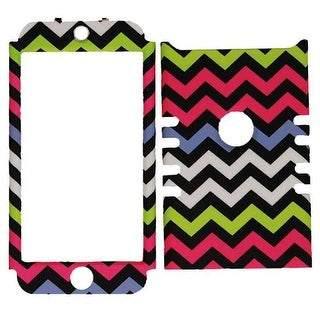 Rocker Series Snap-On Protector Case for Apple iPod Touch 5 (Yellow/Pink/Black/W