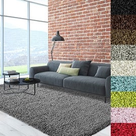 accent rugs cozy soft and dense shag area rug