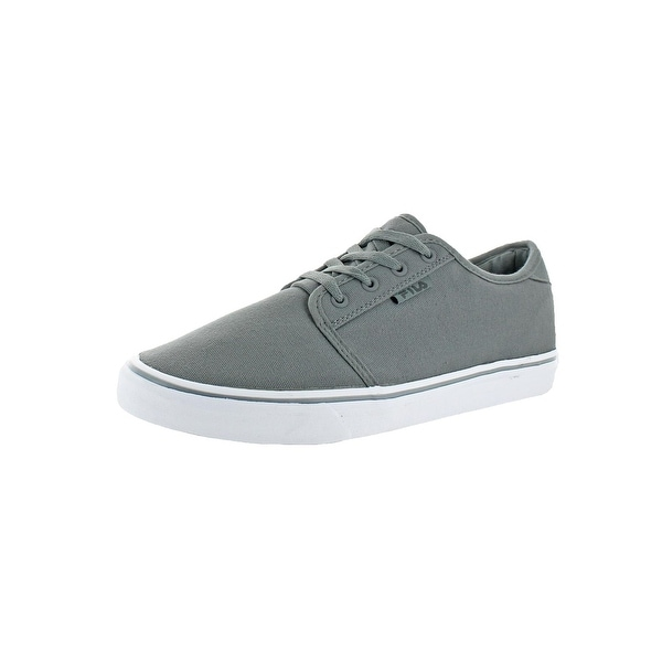 Fila Mens Easterly Canvas Walking Shoes Canvas Contrast Trim