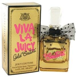Eau De Parfum Spray 3.4 oz Viva La Juicy Gold Couture by Juicy Couture - Women