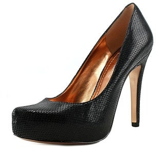 BCBGeneration Parade Women Pointed Toe Leather Black Heels