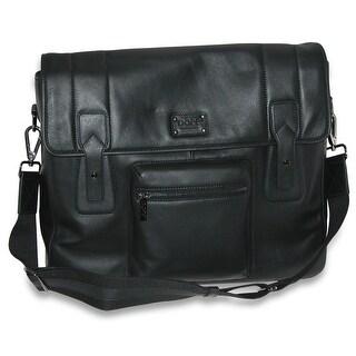 DOPP Men's Leather Gear Messenger Bag