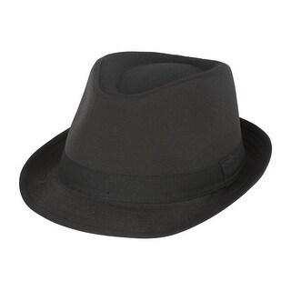 Classic Black Fedora Hat