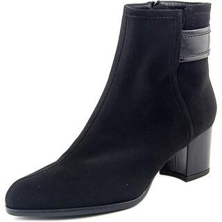 Stuart Weitzman Antiacqua Women  Round Toe Canvas  Ankle Boot