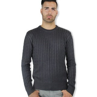 Men's Crew Neck Sweater (Option: Brown)