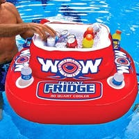 WOW Sports Floating Fridge and Cooler For Beverages By The Pool (11-2000)