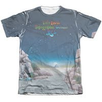 Yes Topographic Oceans (Front Back Print) Mens Sublimation Shirt