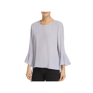 Vince Camuto Womens Pullover Top Crepe Soft