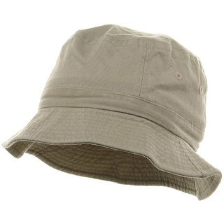 Youth Pigment Dyed Bucket Hat-Natural