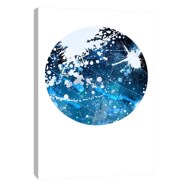 """PTM Images 9-105932 PTM Canvas Collection 10"""" x 8"""" - """"Interstellar Sphere 3"""" Giclee Celestial Art Print on Canvas"""