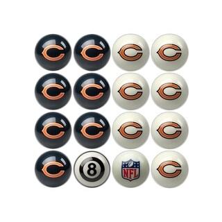 NFL Chicago Bears Home vs. Away Team Billiard Pool Ball Set