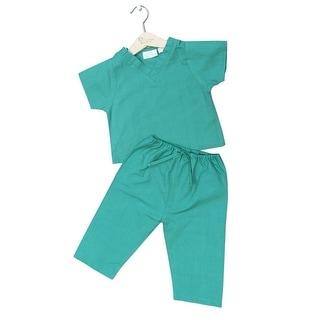Princess Linens Green Scrubs Halloween Costume Toddler Girls 6M-4T