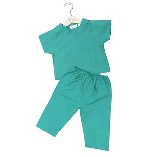 Princess Linens Green Scrubs Halloween Costume Toddler Girls 6M-4T (More options available)