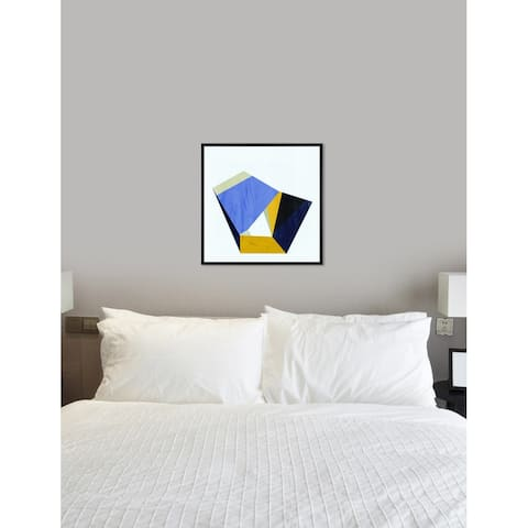 Oliver Gal 'Speak French' Abstract Framed Wall Art Print