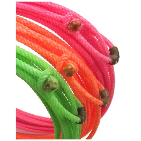 Open Range Ranch Rope Eclipse 50' Super Scant Lime Green - medium soft