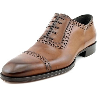To Boot New York Warwick Cap Toe Leather Oxford