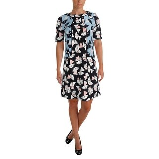 Marc by Marc Jacobs Womens Casual Dress Silk Printed