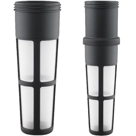 Takeya Stain-Free Fine Mesh Tea Infuser - Black