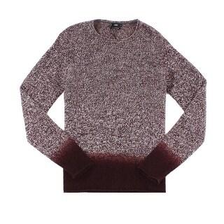VINCE. NEW Red Mens Size Medium M Crewneck Cashmere Knit Sweater