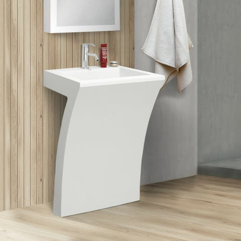 Fine Fixtures Cedar Falls Bathroom Pedestal Sink