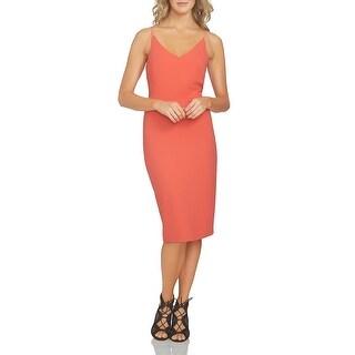 1.State Womens Slip Dress Adjustable Straps Double V