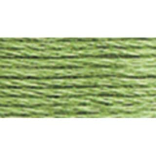 DMC Pearl Cotton Ball Size 8 87yd-Light Pistachio Green