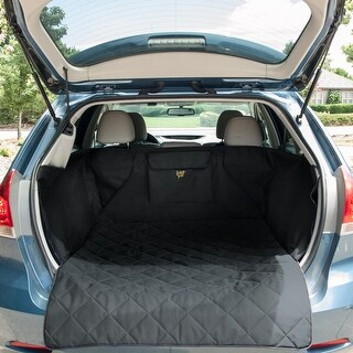 Frontpet Quilted Dog Cargo Cover for SUV Universal Fit for Any Animal. Durable Liner Covers and Protects Your Vehicle