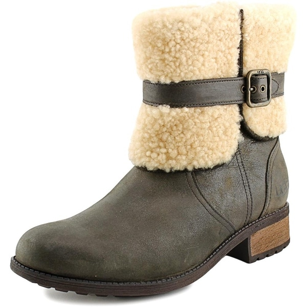 a4e4dfc9c31 Shop Ugg Australia Blayre II Women Round Toe Leather Brown Winter ...