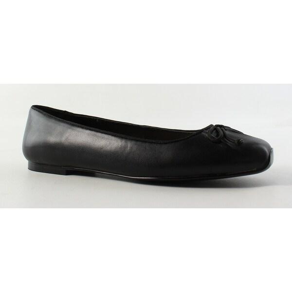 5aefdef1ea6f Shop Nine West Womens 25025836 Black Ballet Flats Size 6.5 - Free ...