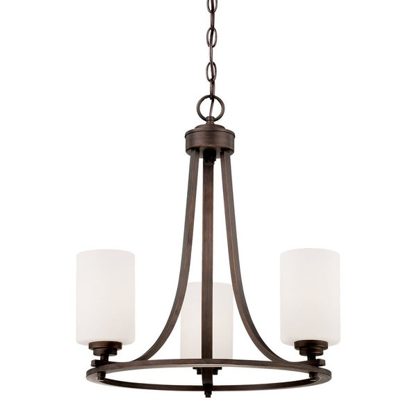 Millennium Lighting 7253 Bristo 3-Light 1 Tier Chandelier