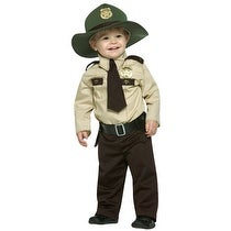 Future Trooper Cop Kids Costume size 18-24 Months - 18-24 months