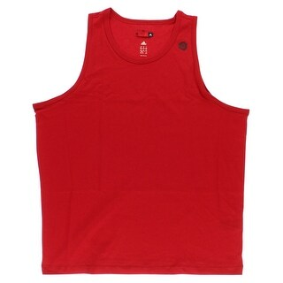 Adidas Mens D Rose Tank Top Red