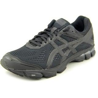 Asics GT-1000 4 Men Round Toe Synthetic Black Running Shoe