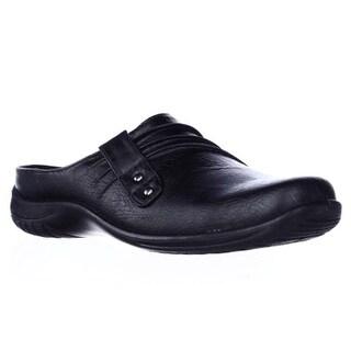 Easy Street Holly Comfort Mules, Black Matte