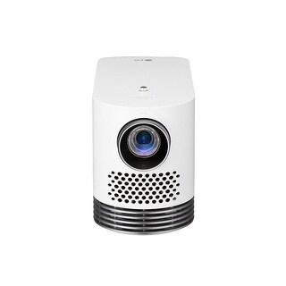 LG HF80JA Laser Smart Home Theater Full HD Projector, White